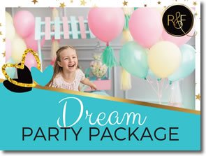 Ruby and Fi - Dream Party Package