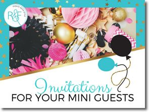 invitations for your mini guests